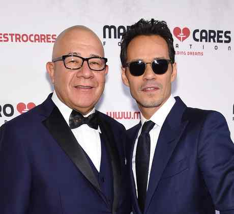 Marc Anthony at Maestro Cares event