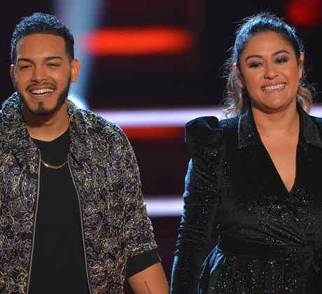 Kayson Luis Burgos y Lizette Rubio en las batallas de La Voz US 2