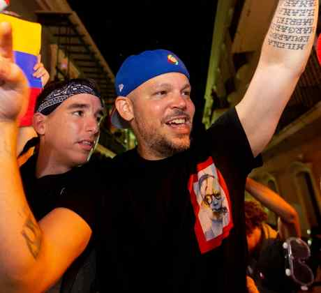 Residente talks to El Salvador's president
