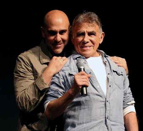 Héctor Suárez e hijo