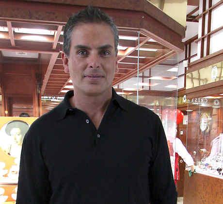 Xavier Ortiz posando en México, 2007