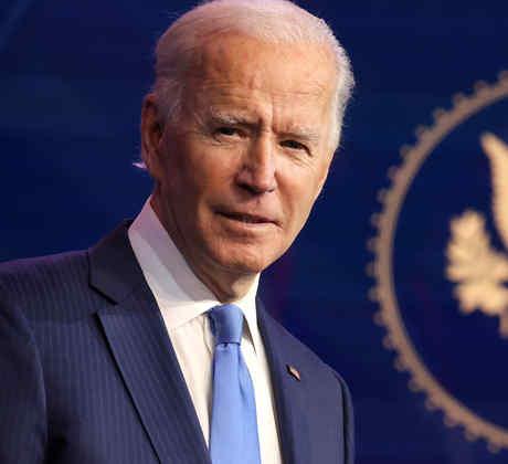 El presidente electo Joe Biden habla durante un evento para anunciar nuevas nominaciones para su gabinete el 11 de diciembre de 2020 en Wilmington, Delaware.