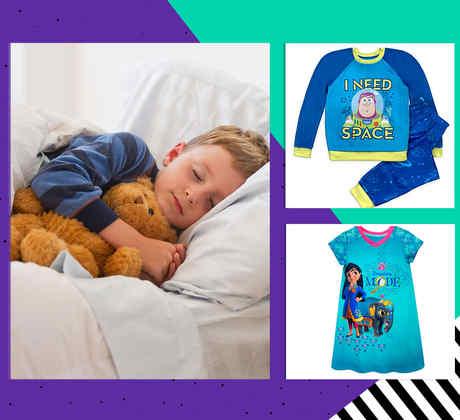 Rebajas en pijamas para niños y niñas de la marca Disney
