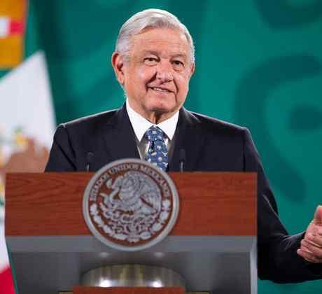 El presidente mexicano Andrés Manuel López Obrador durante su conferencia de prensa matutina, en Ciudad de México, el 5 de mayo de 2021.