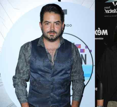 José Eduardo Derbez, Victoria Ruffo y Omar Fayad