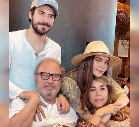 Belinda y su familia
