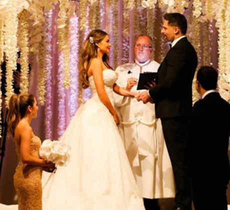 Foto de la boda de Sofía Vergara y Joe Manganiello