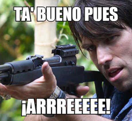 """Los dichos """"El Señor de los Cielos"""" o Rafael Amaya en """"¡Qué Noche! Con Angélica y Raúl"""""""