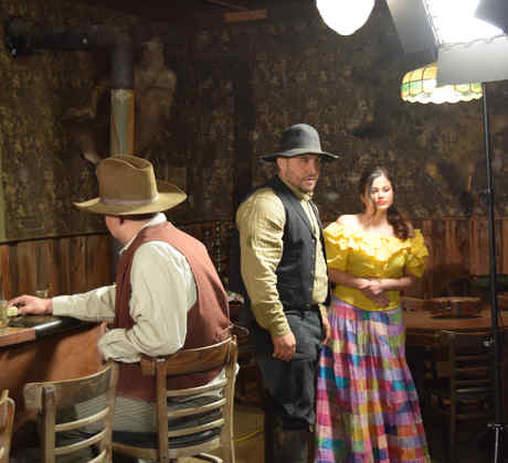 """Juan Rivera durante la grabación del video """"Me puse a pensar"""""""