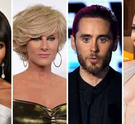 Naomi Campbell, Christian Bach, Jared Leto y Jennifer Lopez