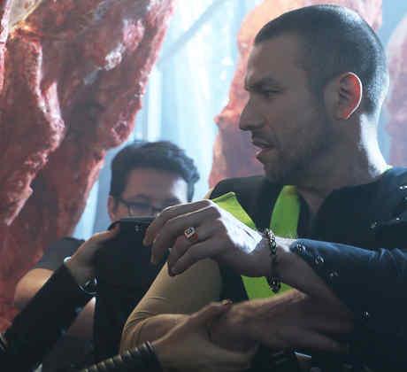 Rafael Amaya, Aurelio Casillas, detrás de cámaras, El Señor de los Cielos