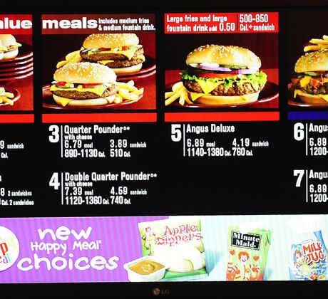 menu cadena supermercado
