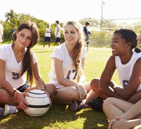 Equipo de fútbol femenino