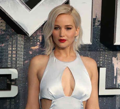 """Jennifer Lawrence deslumbró en la premiere de """"X-Men: Apocalypse"""""""
