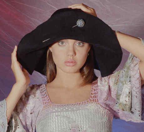 Sesión de fotos de Angelina Jolie.