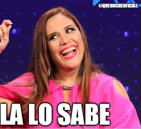 """Los mejores memes de Angélica Vale y Raúl González en """"¡Qué Noche!"""""""
