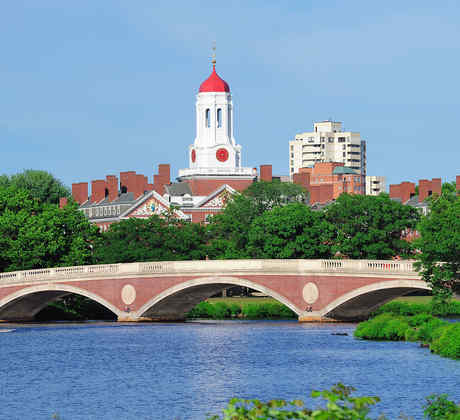 Vista de Harvard University