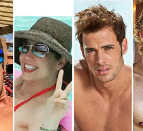Lambda García, Thalia, William Levy y Sebastian Rulli