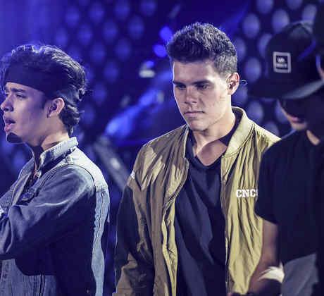 CNCO ensayos  Latin American Music Awards 2016