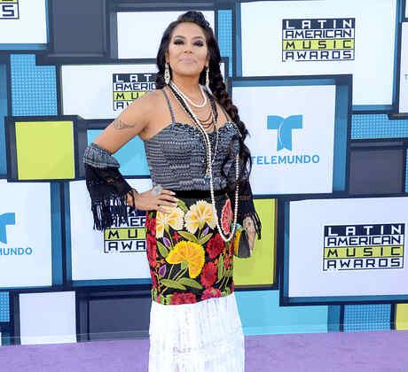 Lila Downs, alfombra, 2016, Latin American Music Awards