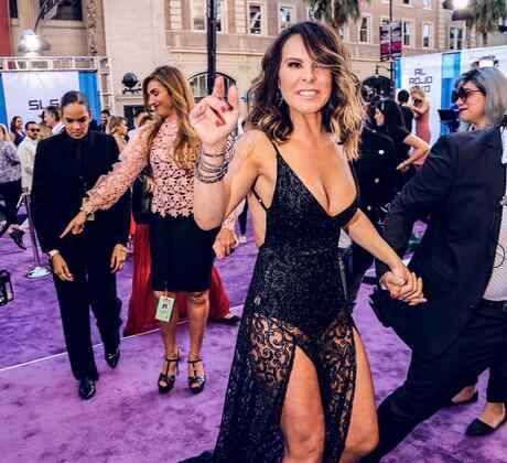 Kate del Castillo - Alfombra Morada Latin American Music Awards 2016