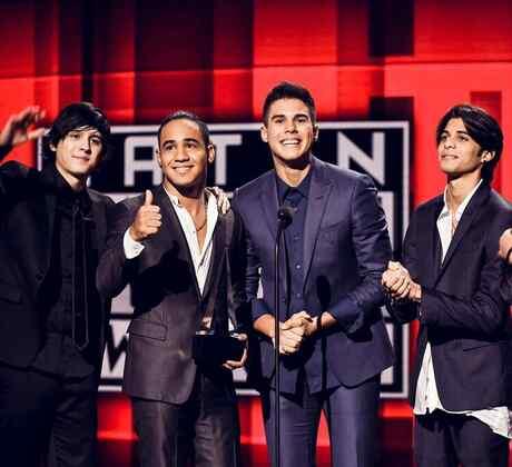 CNCO, ganadores, Latin American Music Awards, 2016