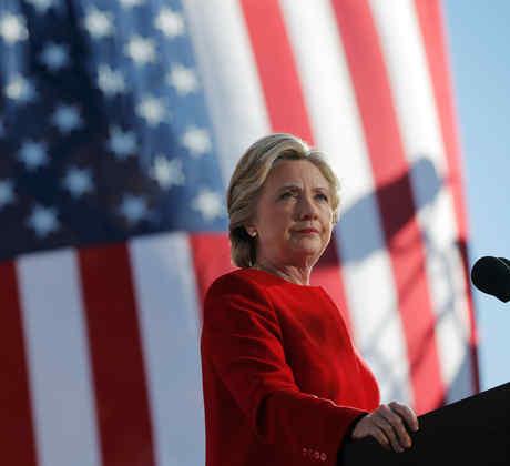 Hillary Clinton en White Plains, Nueva York