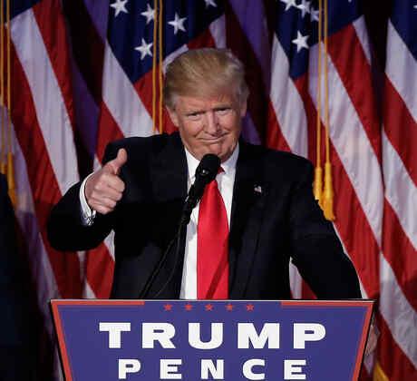 Presidente Electo Donald Trump