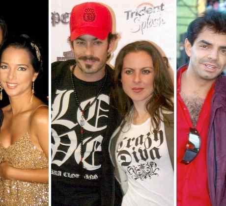 Luis Fonsi, Adamari López, Aarón Díaz, Kate del Castillo, Eugenio Derbez y Victoria Ruffo