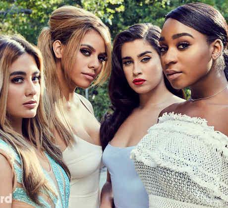 Fifth Harmony posa para la portada de Billboard