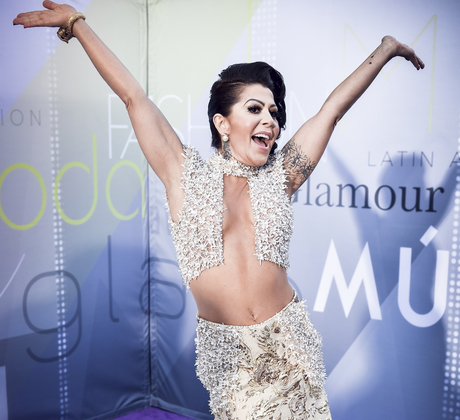 Alejandra Guzman en los Latin Music Awards 2017