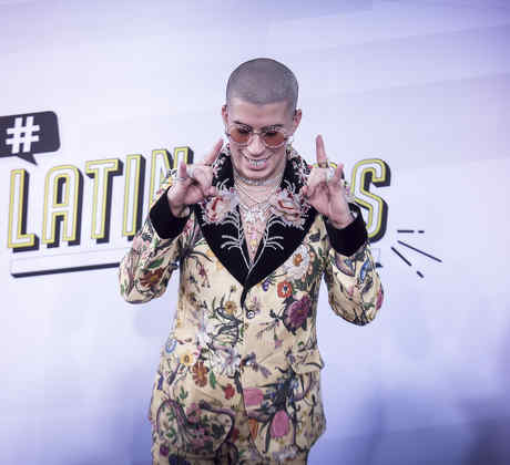 Bad Bunny en los Latin Music Awards 2017