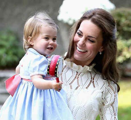 Kate Middleton y su hija Charlotte