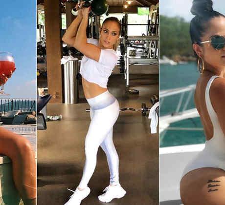 Becky G, Jennifer Lopez y Natti Natasha