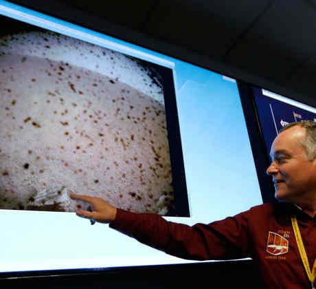 Primeras imágenes de la sonda InSight desde Marte