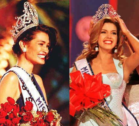 Brook Lee, Alicia Machado y Dayanara Torres coronadas como Miss Universo