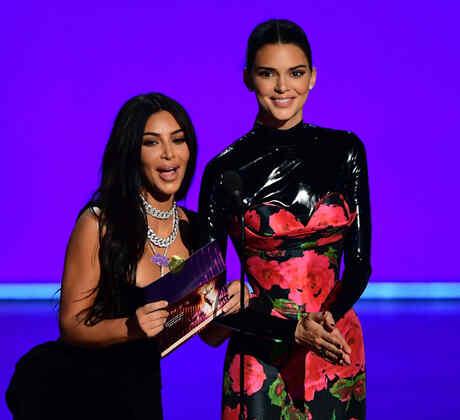 Kim Kardashian y Kendall Jenner