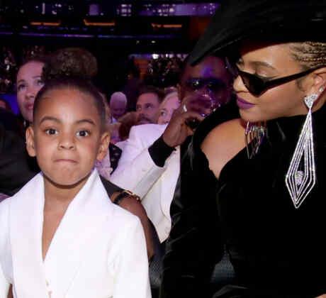 Blue Ivy, Beyoncé, Jay-Z en Grammys 2018