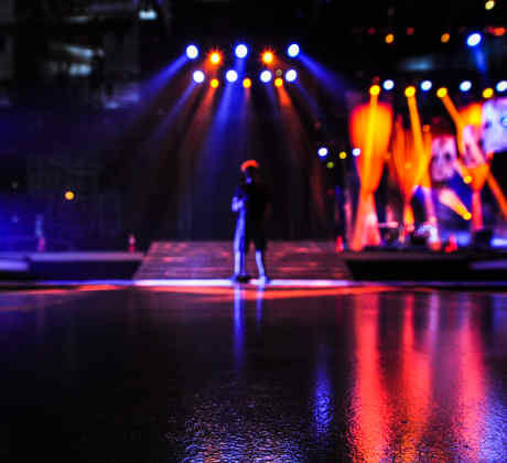 El escenario de Premios Tu Mundo