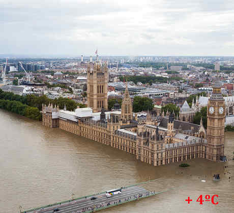 Londres +4C Río Támesis