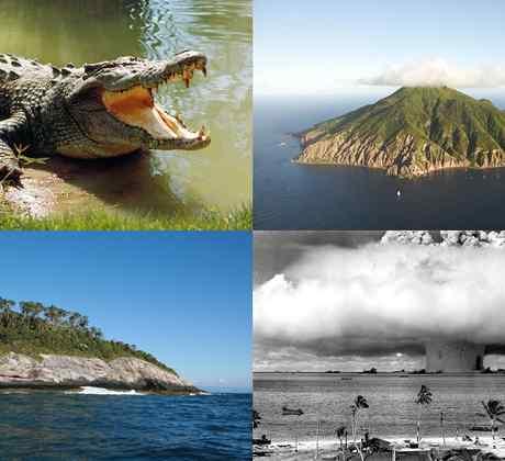 Las 10 islas más peligrosas del mundo