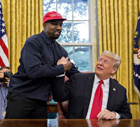 Kanye trump