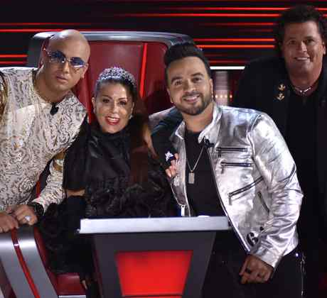 Revive la semifinal de La Voz en fotos