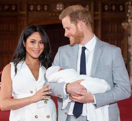 Príncipe Harry, Meghan Markle y su hijo Archie