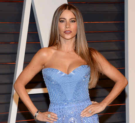 Sofía Vergara en Vanity Fair Oscar Party
