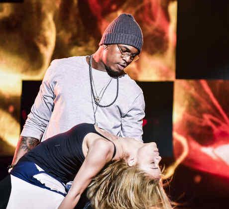 Ne-Yo en el ensayo de Premios Billboard 2015