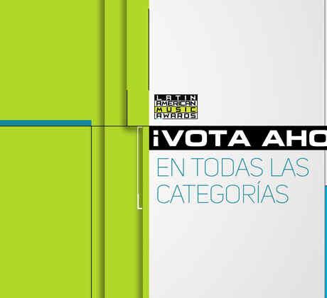 Vota ahora en Latin American Music Awards