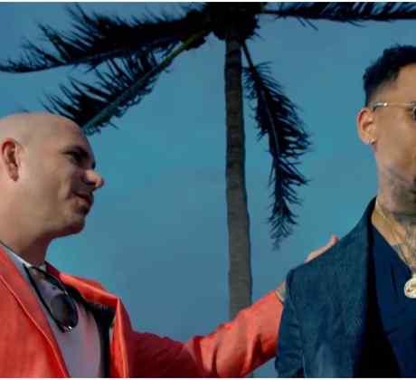 Pitbull, Chris Brown, Shakira y Rihanna