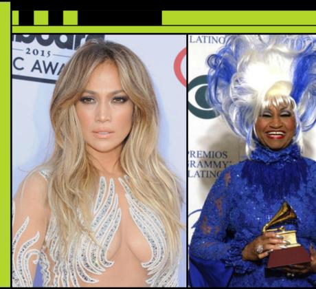 Jennifer Lopez, Celia Cruz y Thalia