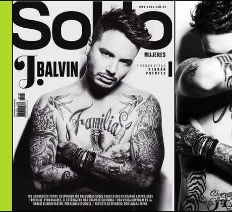 J Balvin en la portada de la revista Soho